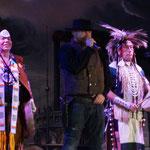 eine Indianer-Show