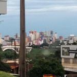 die Grenzstadt Ciudad del Este