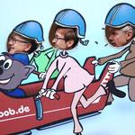 wir sind dann lieber BOB gefahren (nicht wirklich - für 85,00 € p.P. viel zu teuer)