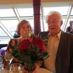 """Als """"Urgestein"""" mit fast 62 Ehejahren - bekommen sie einen tollen Blumenstrauß"""