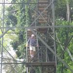 Abstieg - aber nur vom Aussichtsturm