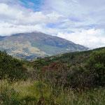der Vulcan vom Mirador (Aussichtspunkt) der Wanderung