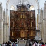 die Katedrale - gar nicht so übertreiben prunkvoll