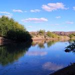 am Flussufer von Los Altares