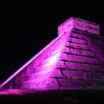 und der zentrale Punkt - die Kukulcan-Pyramide