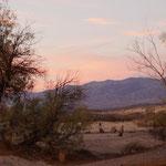 Sonnenuntergang auf dem Camping