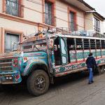 Bus der Indigenen Bevölkerung