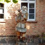 hier wohnt der Weihnachtsmann (aber recht unspektakulär)