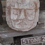 die Maske stammt aus Mexico