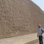 Chan Chan mit hohen Mauern