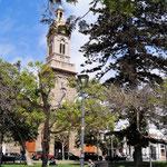 die Kirche natúrlich wieder am Plaza de Amaz