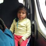 Die kleine Lady hat Bernd im Collectivo unterhalten