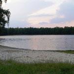 sauberer kleiner See