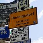 viele Deutsche Orte vertreten!