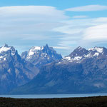 super Aussicht auf den Lago Argentino