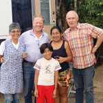 Marcela, Dieter, Christopher und Lidia