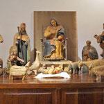der kleine Jesus wird gefeiert