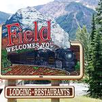 Field - das Schönste vom Ort ist dieses Schild!