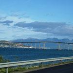 Tromsö in Sicht