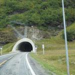 Zwei bis zu 7 km lange Tunnel sind zu befahren ...