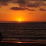 ... noch der perfekte Sonnenuntergang - wir sind glücklich!