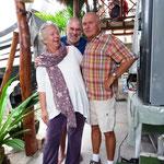 Wir verabschieden uns von Vera und Dierk, die guten Geister vom Platz!