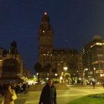 der erste Abend in Montevideo
