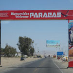 angekommen in Paracas