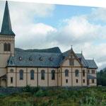 Kirche unterwegs - Lofotenkirche