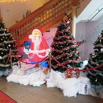 Angekommen beim Weihnachtsmann