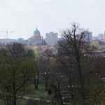 Blick vom Babelsberger Park auf Potsdam