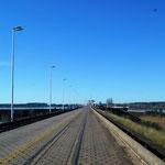 die Grenzbrücke über den Rio Uruguay