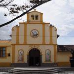 die Kirche ist, wie in jedem Ort das besterhaltenste Gebäude