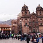 auf dem Plaza del Amaz ...
