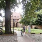 Ausfahrt in das Kloster Lehnin
