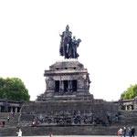 Reiterstandbild vom Kaiser Wilhelm I. am Deutschen Eck