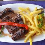 und ein Gedanke an das tolle Steak in Tigre