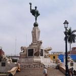 ... mit dem Denkmal der Freiheitskämpfer