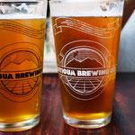 als Abschluss ein Bier aus der hiesigen Brauerei