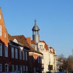 "das ""Holländer Viertel"" in Potsdams Innenstadt"