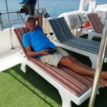 Relaxen ist angesagt