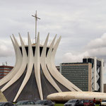 die Kathedrale von Brasilia