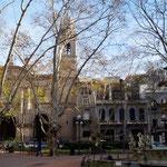 Plaza de la Constitution mit Kathedrale von Montevideo