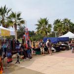 in Los Barriles ist Markt ...