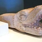 Die Maya-Ausstellung im inneren des Museums (die gefiederte Schlange)