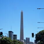 der Obelisk - Wahrzeichen der Stadt