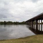 unser Stellplatz am Rio Paraná