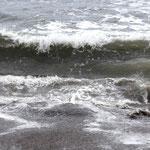 recht hohe Wellen