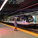 In der Metro-Station - unterirdisch