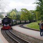 """eine Zugfahrt mit dem """"Rasenden Roland"""" von Sellin nach Binz"""